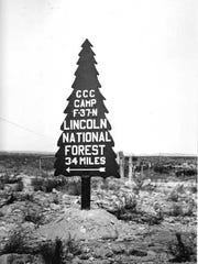 The Civilian Conservation Corps was an early New Deal program begun by President Franklin D. Roosevelt in 1933. During the Depression, young men were employed in projects to plant trees and improve soil conservation and environmental conservation in state and national parks.