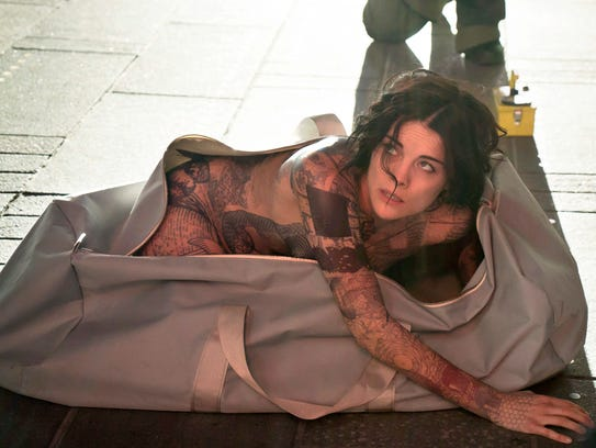 "Jamie Alexander stars in ""Blindspot,"" a new NBC drama."