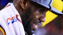 TORONTO, ON - MAY 27:  LeBron James #23 of the Cleveland
