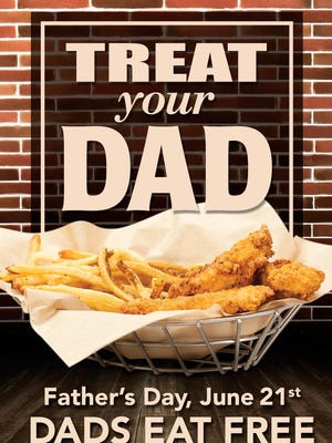 PDQ celebrates Father's Day at area locations.