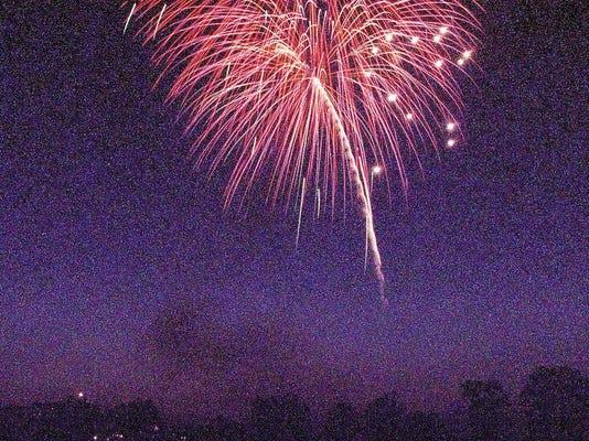 Wilson fireworks