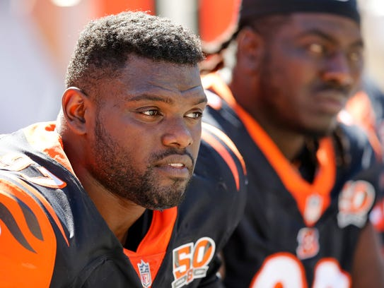 Cincinnati Bengals defensive tackle Geno Atkins (97)