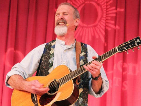 Local entertainer Tom Pease will perform on April 12