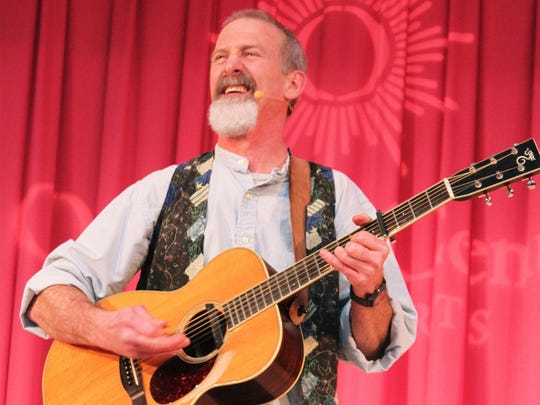 Local entertainer Tom Pease will perform on April 12 in the Fine Arts Center at McMillan Memorial Library as part of Family Fun Night.