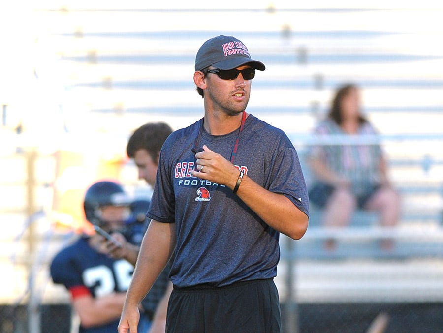 Justin Palmer will be leaving the Red Hawks to take the head coaching job at Shelbyville.