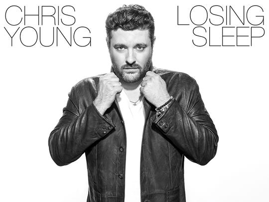 "Chris Young will release the album ""Losing Sleep"" on Oct. 20."