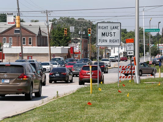 LAF Sagamore Pkwy South Street Intersection