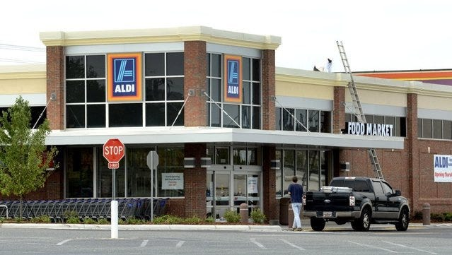 Discount grocery chain Aldi is coming to Cape Coral. Pictured is an Aldi opening in 2011 in North Carolina.