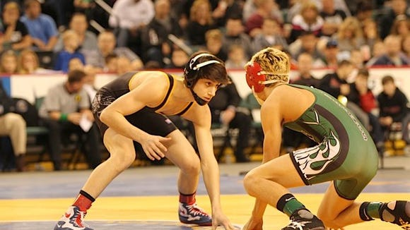 SDSU wrestling recruit Anthony Cefolo has won two New Jersey state titles.