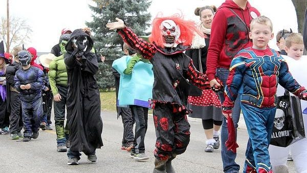 Area youth participate in Halloween festivities in 2018.