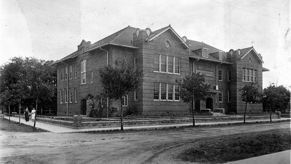 The Gwynne Institute building still stands in Fort Myers but is no longer used as a school.