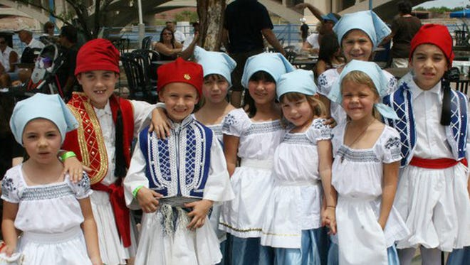 A Taste of Greece Festival | St. Katherine Greek Orthodox Church turns into a mini Greek village for its annual three-day festival, with music, dance and such traditional foods as baklava and dolmades.  Details: Oct. 2-4. 5-10 p.m. Friday; 11 a.m.-10 p.m. Saturday; 11 a.m.-7 p.m. Sunday. 2716 N. Dobson Road, Chandler. $3. 480-899-3330, atasteofgreeceaz.com.