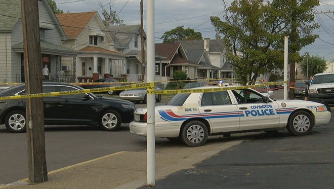 Police say a boy riding his bike Friday in Latonia, Ky. was struck and killed by a vehicle.