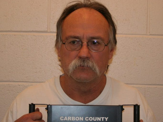 Sam Gene Harris was arrested in Wellington, Utah, on