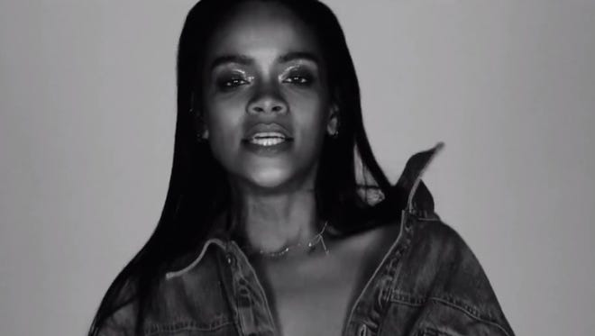 In Rihanna's iconic music videos, she's always four-five seconds from wildin'.
