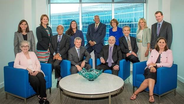 Navient's board of directors includes (front row, left to right) Diane Suitt Gilleland, Barry A. Munitz, Jack Remondi, William M. Diefenderfer, Steven L. Shapiro, Ann Torre Bates; Second row (left to right): Katherine A. Lehman, Jane J. Thompson, Anna Escobedo Cabral, Barry L. Williams, Linda A. Mills, Laura S. Unger, John K. Adams