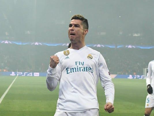 EPA FRANCE SOCCER UEFA CHAMPIONS LEAGUE SPO SOCCER FRA