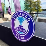 The Orlando Pride took the field for the first time on Monday morning.