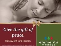 DAY 3: BOGO 50% off at Elements Massage