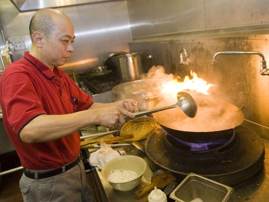 Michael Leung, owner of Asian Cafe Express in Mesa,