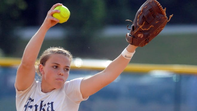 Courtney Pearson and the Enka softball team were last season's Mountain Athletic Conference 3-A champions.