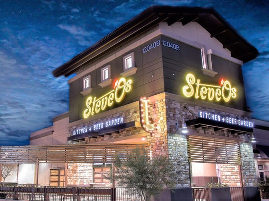 Steve-O's Beer Garden, at 12040 Tierra Este Road in far East El Paso, opened in October.