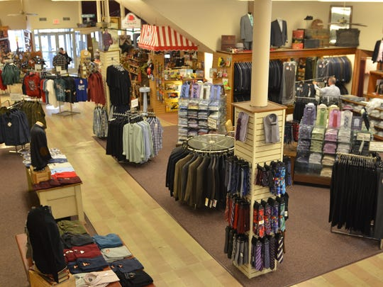 Schroeder's Department Store carries a wide range of men's clothing, along with women's apparel, toys, yarn and more.