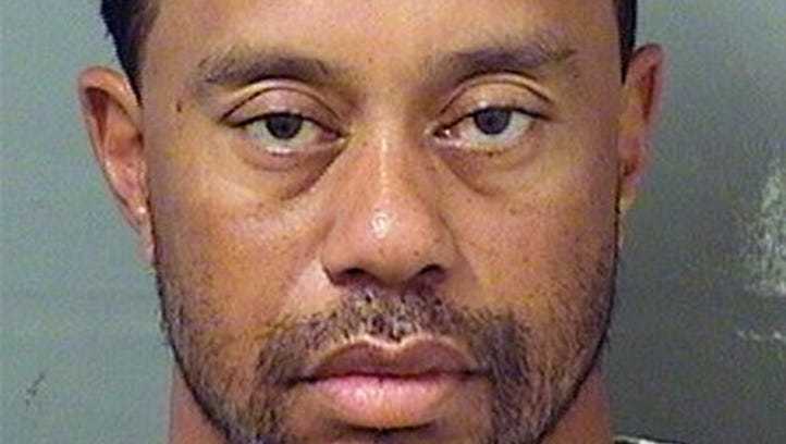 Tiger Woods' mugshot after DUI arrest now under the influence of society