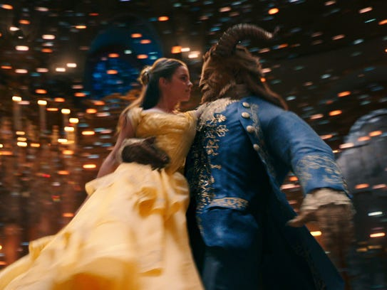 Belle (Emma Watson) comes to realize that underneath
