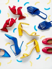 These bright shoes will say it all: We're all about