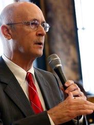 Sen. Hob Bryan, D-Amory, questions the Senate Finance