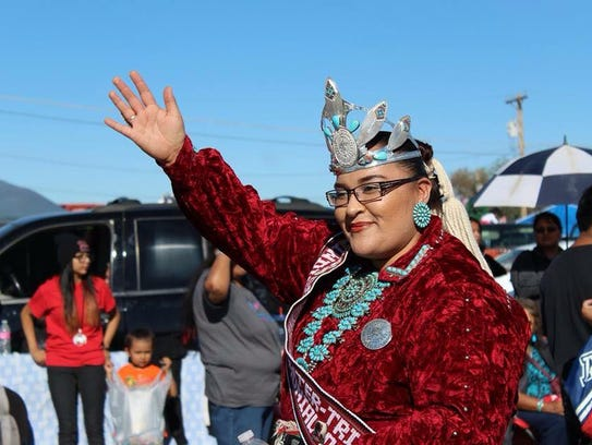 Kahlaya McKinney, 2015-16 Miss Gallup Inter-Tribal