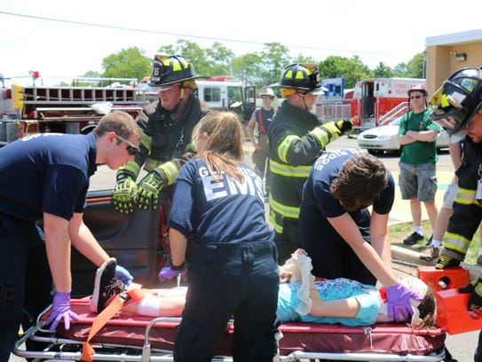Keyport First Aid Hosting Big Cadet Competition