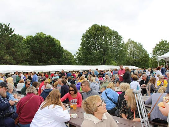 Crowds at last year's Taste of Fond du Lac sampled