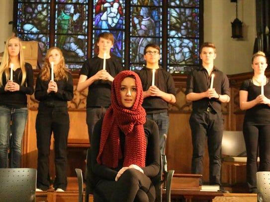 Proud Theater Wausau members perform at Wausau's UU