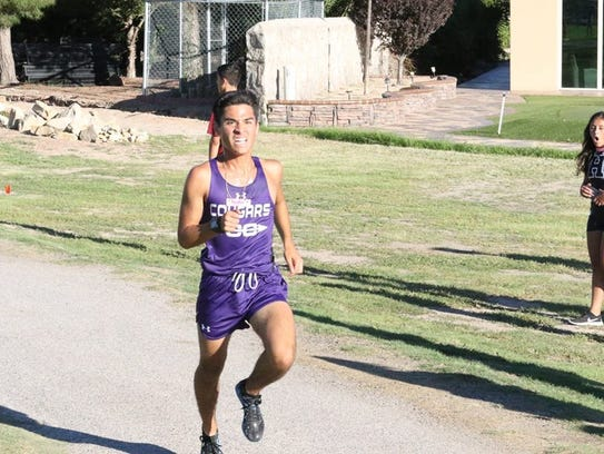 Franklin senior Adam Cortez is chasing his first top