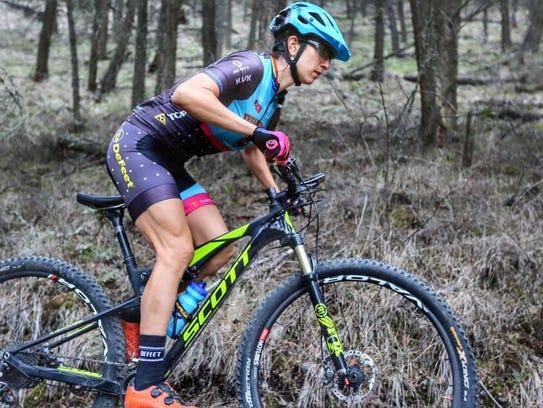 World-class mountain biker Sonya Looney will race in