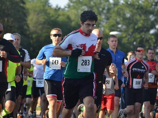 The 2017 Point Duathlon will be held July 15, 2017.