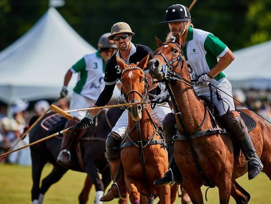 Victory Cup Polo matches take place on Governor's Island