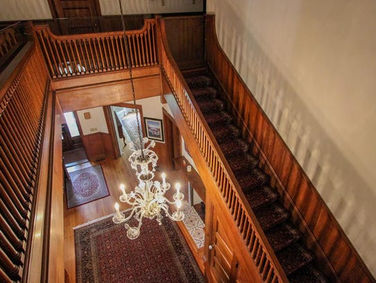 Inside the mansion at 2 Fountain Place.