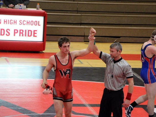 Cody Sawyer has yet to drop a match this season, posting a 28-0 record.
