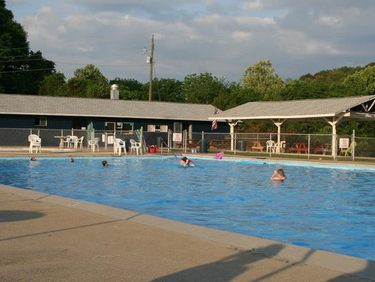 The pool was enjoyed by members in 2017 who were unaware