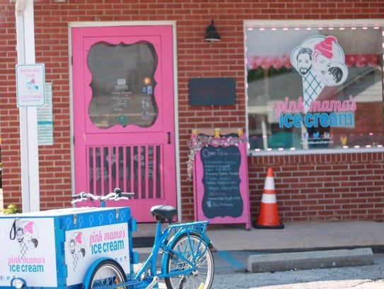 Pink Mam's Ice Cream is growing.