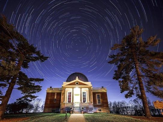 The Cincinnati Observatory today atop Mount Lookout.