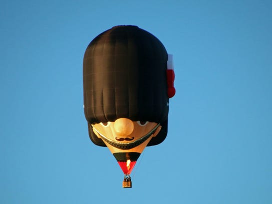 The 36th annual QuickChek New Jersey Festival of Ballooning