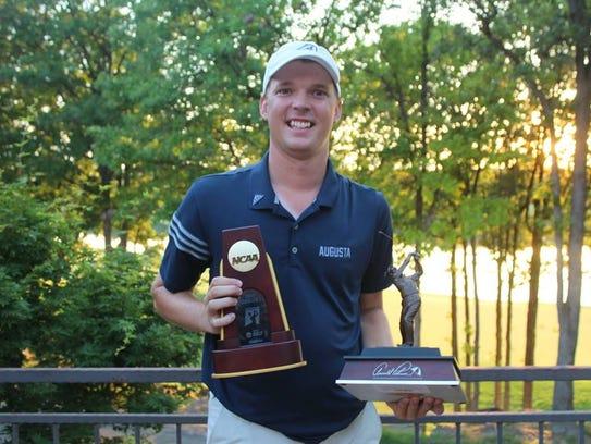 Augusta golfer Broc Everett, a West Des Moines Valley