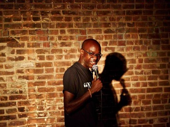 Comedian Khalid Rahmaan realized he had a proclivity