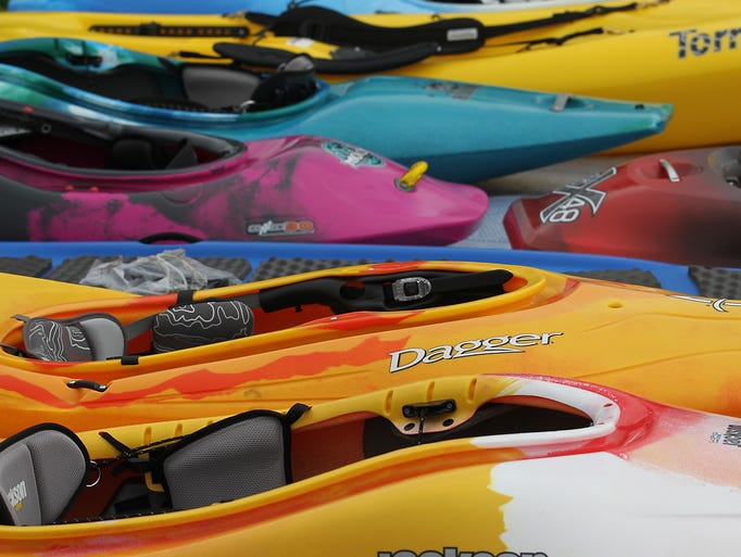 Wausau's Whitewater Park played host to the Midwest Freestyle Championships this past weekend (August 16 and 17). About ninety competitors showed off their best kayaking and canoeing tricks during the weekend.