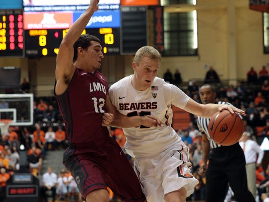 NCAA Basketball: Loyola Marymount at Oregon State
