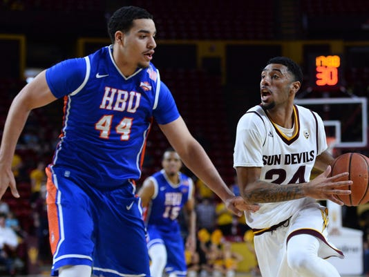 NCAA Basketball: Houston Baptist at Arizona State